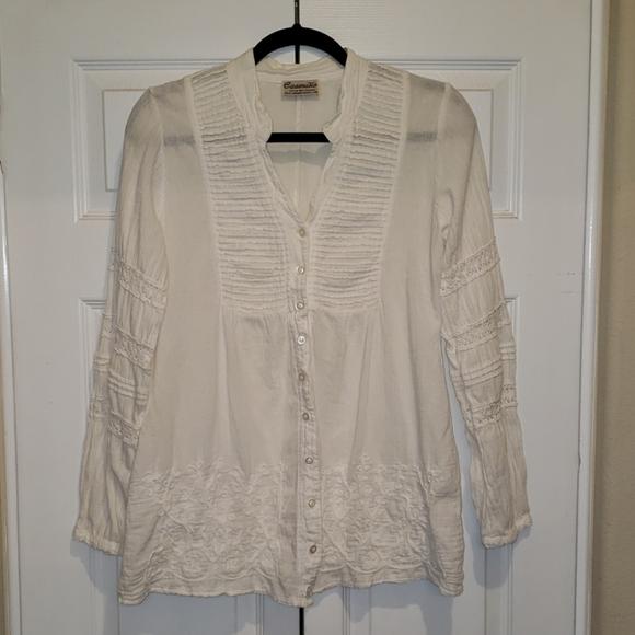 Caamano Tops - 100% cotton tunic/ blouse